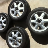 1998 V70XC Mag Wheels with near new Tyres
