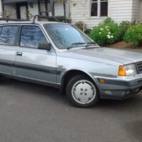 Volvo 360 GLT Silver   1986 5 Door Hatchback 5 speed