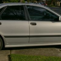 Volvo S40 T4 LE 1997. Turbo, manual sedan. Very low kms. Super Tourer Pack. Silver.