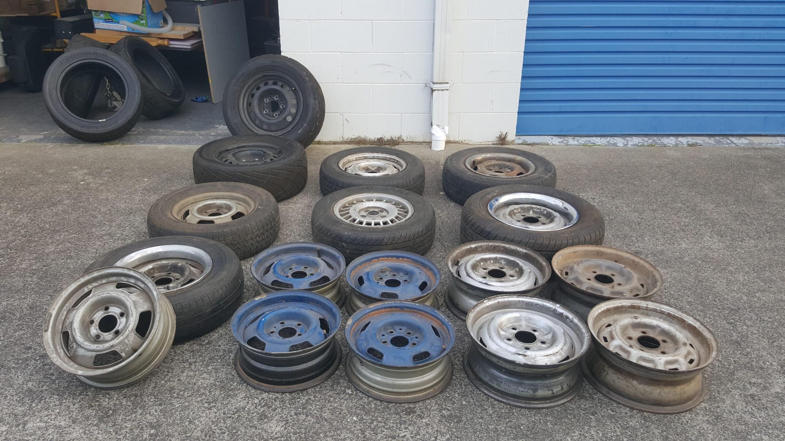 Various Volvo Rims.